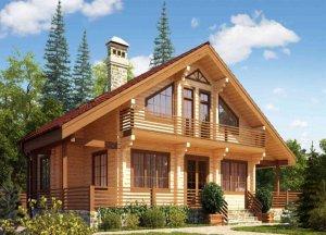 Строим деревянный дом - выбор бруса