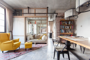 Дизайн-планировка двухкомнатной квартиры