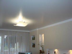 Сатиновый натяжной потолок – уникальное дизайнерское решение