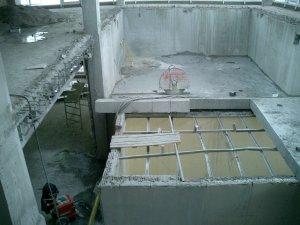 Демонтаж железобетонных стен