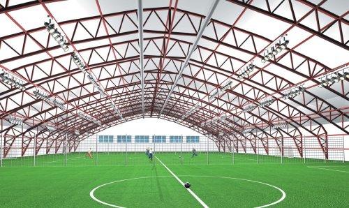 Особенности строительства спортивных сооружений