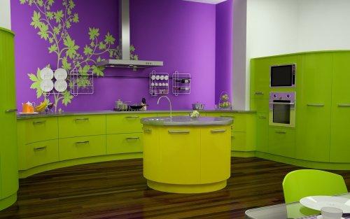 Преимущества моющейся краски для стен кухни