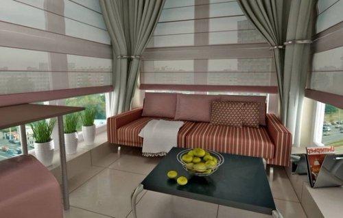 Внутренняя отделка балкона: особенности, этапы работ